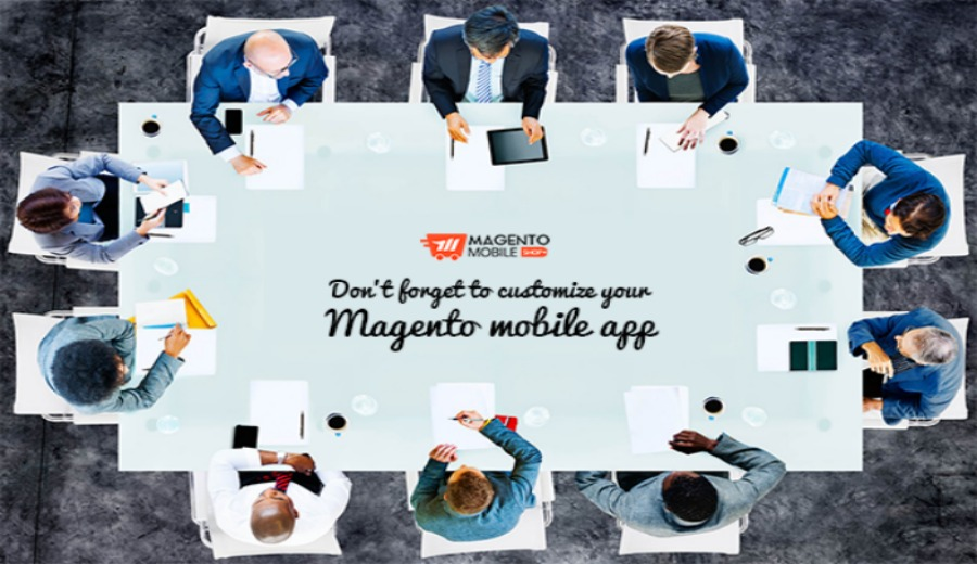 magento mobile app customization