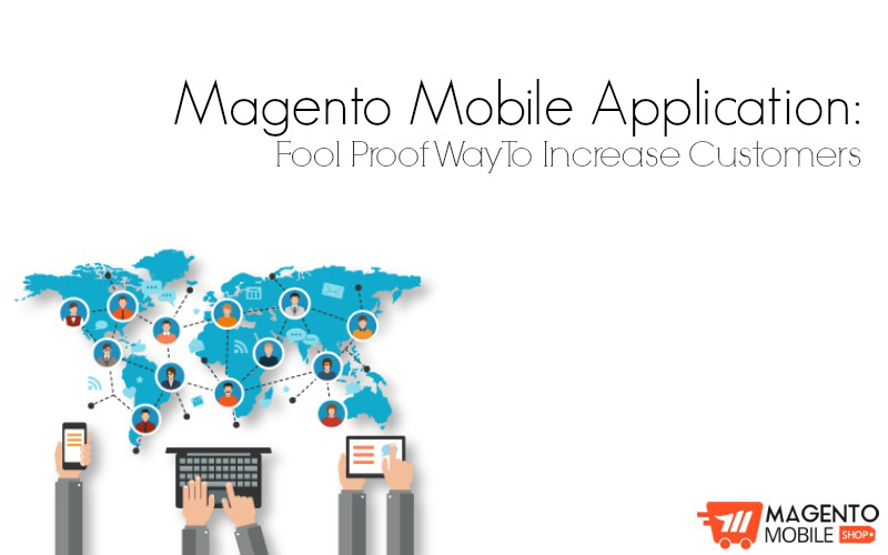 ecommerce magento mobile application
