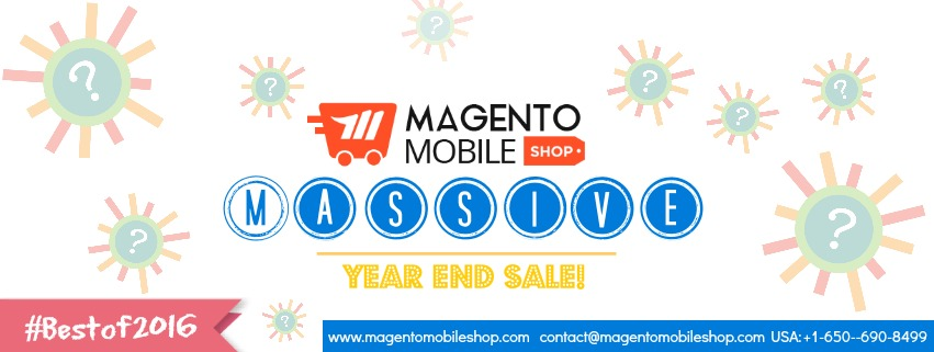 Magento mobile app sale