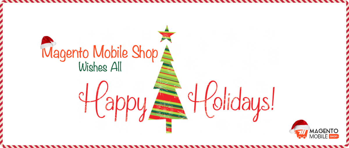 magento mobile app offers christmas