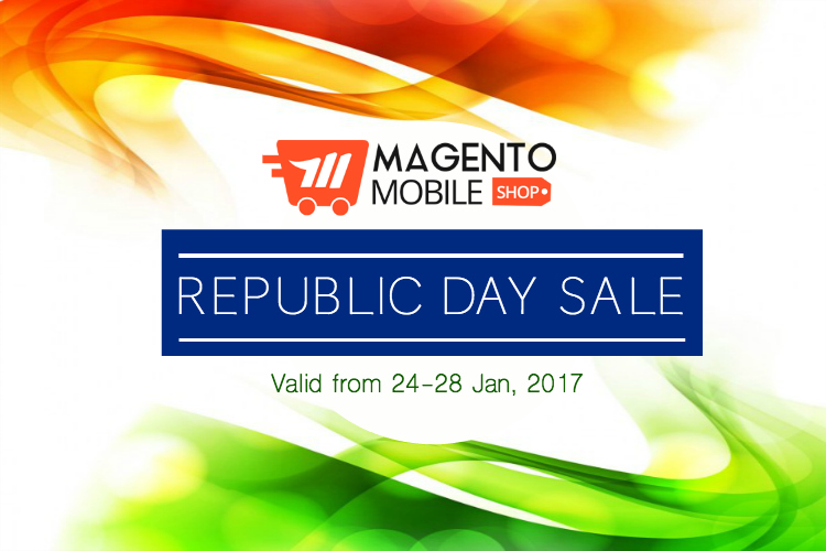 magento mobile app republic day sale
