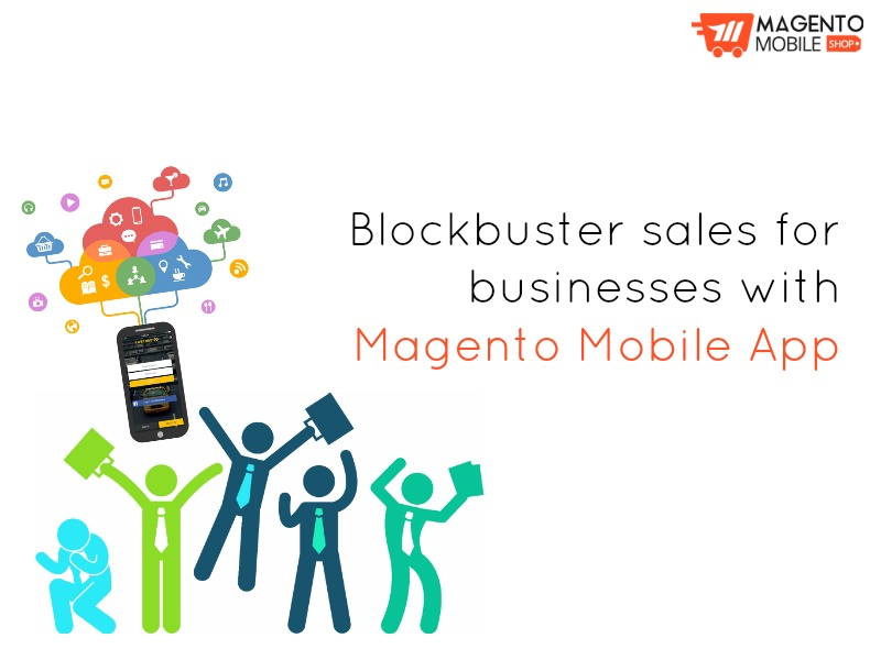 magento mobile app sales