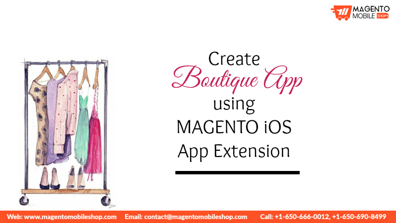 Create Boutique App using Magento iOS App Extension