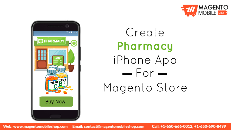 Create Pharmacy iPhone App For Magento Store