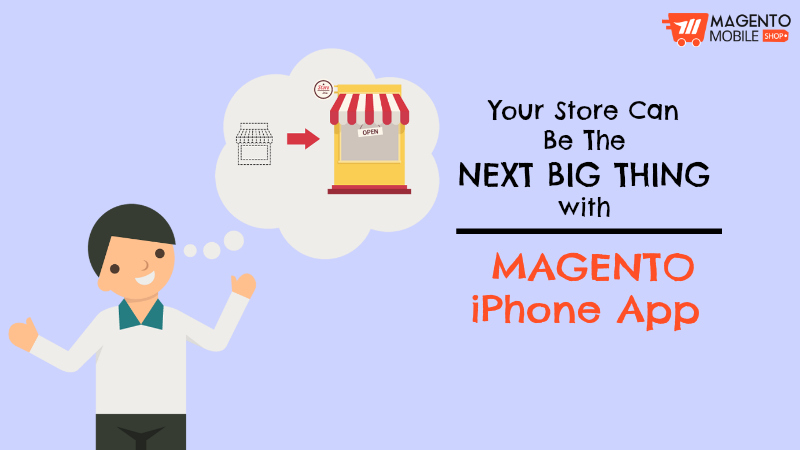 Ecommerce Magento iPhone App for Store