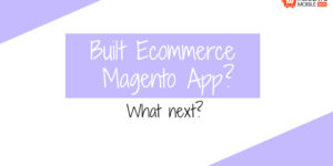 Built Ecommerce Magento App! What next?