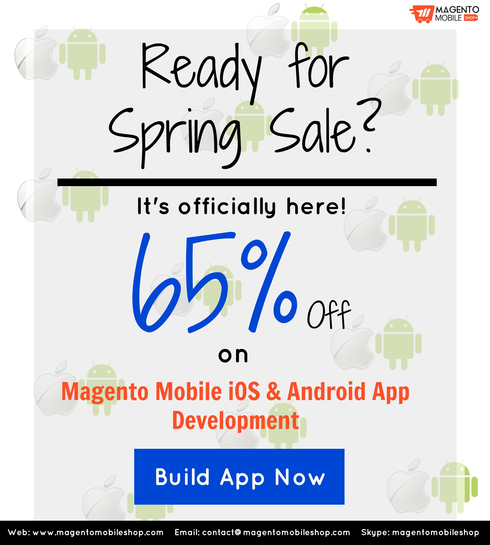 spring sale magento mobile shop
